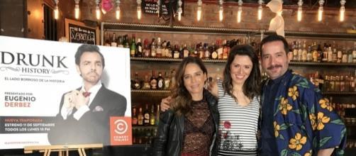 En la entrevista con Ana Claudia Talancón y Memo Martínez.