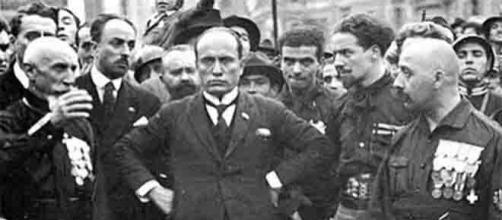 La Marcia su Roma organizzata dai fascisti di Mussolini il 28 ottobre 1922. Ora Forza Nuova vorrebbe replicarla
