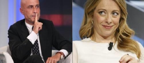 Marco Minniti e Giorgia Meloni