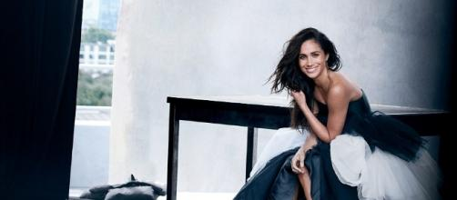 Meghan Markle confirms her romance with Harry for the first time (YBF CHIC/Twitter).).