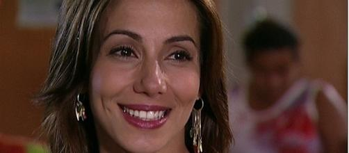 O nome da atriz é Tania Khalil e nos dias de hoje ela está com 40 anos de idade