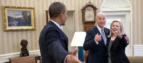 Obama, Biden, Clinton (US Government wikimedia commons)