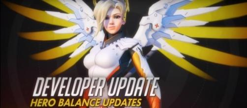 Overwatch Mercy Blizzard (PlayOverwatch/YouTube) https://www.youtube.com/watch?v=vDlCqJ1tD3M