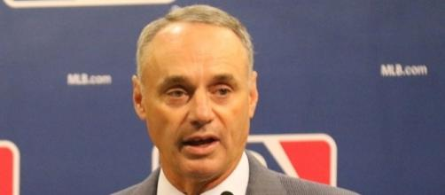 Rob Manfred said the MLB's department of investigations is looking into the matter -- Arturo Pardavila III via WikiCommons