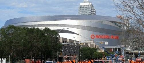 Rogers Place, home of the Edmonton Oilers (Creative Commons/ViperSnake151)