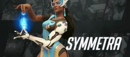 "Symmetra is among the support characters in ""Overwatch"" (via YouTube/PlayOverwatch)"