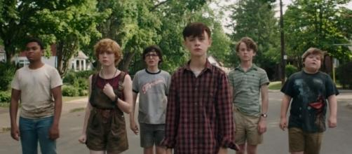The Losers' Club, 'It' 2017 - YouTube/MovieClips Trailers channel