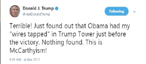 Yet another lie told by President Donald Trump (Image: Twitter)