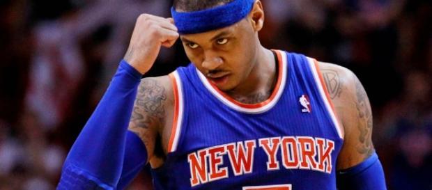 Carmelo Anthony probablemente será repartido cuando la temporada esté en progreso, tras un flujo de rumores