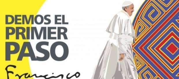 El Papa Francisco habla a jóvenes colombianos