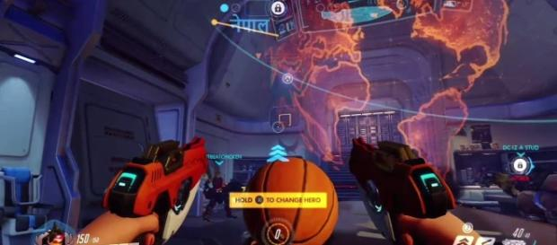 "It looks like Blizzard just killed basketball in ""Overwatch"" (via YouTube/PlayOverwatch)"