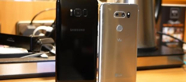 LG V30 vs Samsung Galaxy S8+ - YouTube/PhoneArena Channel