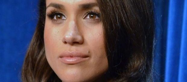Meghan Markle at a promotional event for the TV show Suits-wikimedia commons