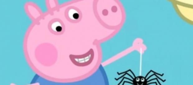 "Popular children's cartoon episode featuring spider deemed as ""unsuitable"" to children (Peppa Pig GB/Twitter)."