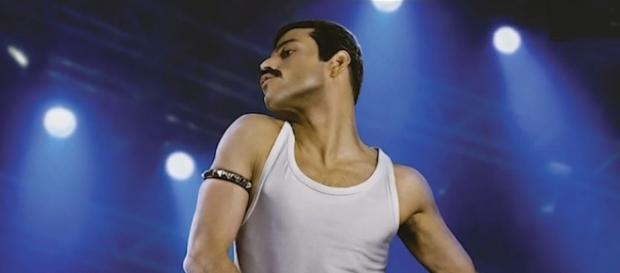 Rami Malek is Freddie Mercury in upcoming biopic for Queen singer [Image: YouTube/Entertainment Weekly]
