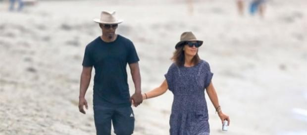 Reports say that Katie Holmes and Jamie Foxx are officially an item. Photo by Vinatainment News/YouTube Screenshot
