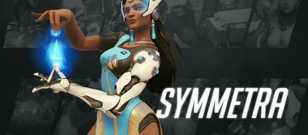 """Symmetra is among the support characters in """"Overwatch"""" (via YouTube/PlayOverwatch)"""