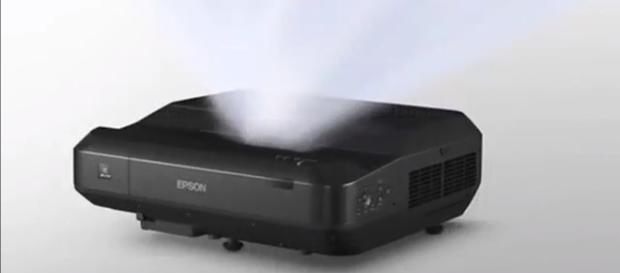 The new projector promises to deliver an ultra short-throw entertainment solution. (via ScienceandMore/Youtube)