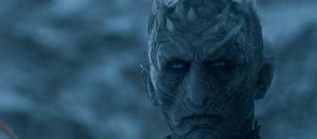 "The Night King in ""Game of Thrones."" (Photo:YouTube/Hybrid Network)"