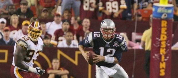 Tom Brady | Tom Brady #12 of the New England Patriots in act… | Flickr - flickr.com