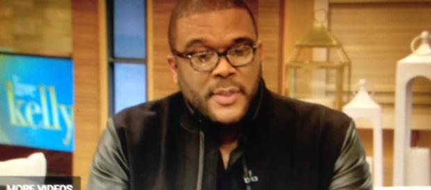 Tyler Perry - Image via Live with Kelly and Ryan/YouTube screencap