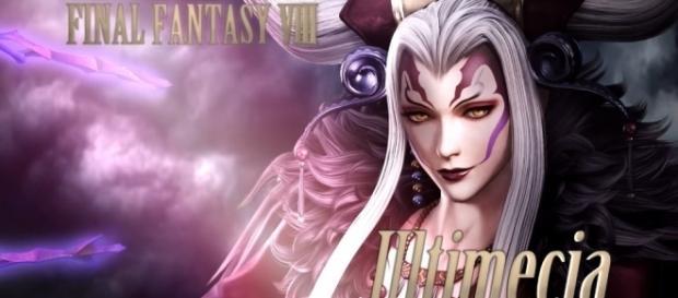 Ultimecia in 'Dissidia Final Fantasy'. (image source: YouTube/スクウェア・エニックス)