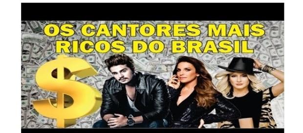 Veja os cantores mais ricos do Brasil