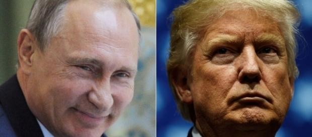 Vladimir Poutine descend Donald Trump