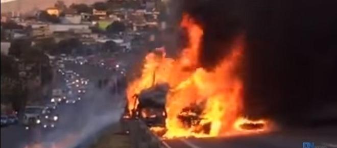 Vídeo mostra acidente trágico no Anel Rodoviário em BH; assista