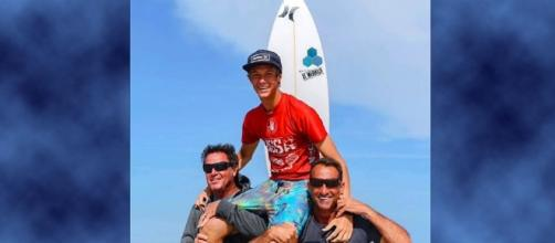 16-year-old pro surfer Zander Venezia died after surfing Hurricane Irma's waves in Barbados [Image: YouTube/Ben Gravy]
