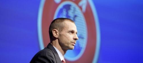 Aleksander Ceferin est prêt à affronter le PSG (Crédits - Harold Cunningham /UEFA).