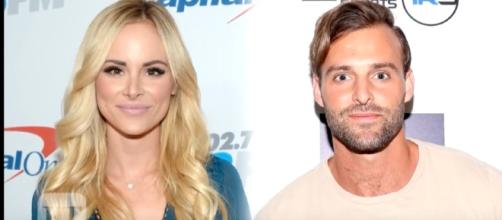 """""""Bachelor in Paradise"""" stars Robby Hayes and Amanda Stanton have called it quits. [Image via YouTube/Entertainment Tonight]"""