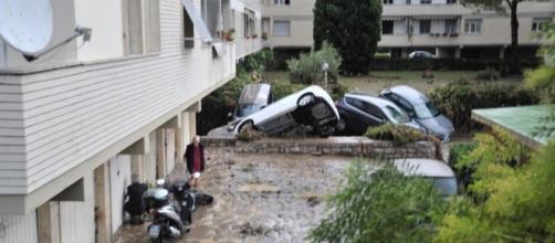 I danni del maltempo a Livorno