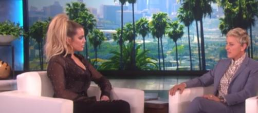 Khloe Kardashian wrote about their show and has some regrets. Image[TheEllenShow-YouTube]