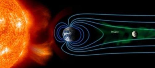 La Terra subisce una riduzione dell'ossigeno per colpa della Luna?
