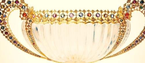 Le Coppe di Buccellati insieme ai suoi gioielli da sogno alla Marciana di Venezia