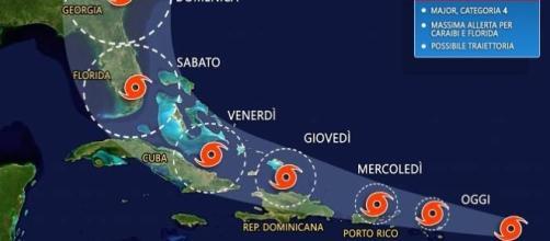 L'uragano Irma è atteso, durante questo fine settimana, in Florida dove potrebbe provocare vittime e danni immensi