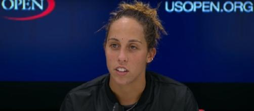 Madison Keys will play her first US Open semifinal/ Photo: screenshot via US Open Tennis Championships official channel on YouTube