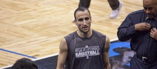 Manu Ginobili recently signed a two-year contract worth $5 million with the Spurs -- Mike via WikiCommons