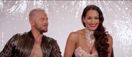 Nikki Bella requested Artem Chigvintsev to choreograph her dance with John Cena in DWTS - via YouTube/Artem DWTS