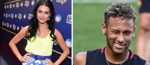 O craque Neymar nem esperou muito para seguir Paloma no Instagram, logo depois que ela terminou com Thiago Martins