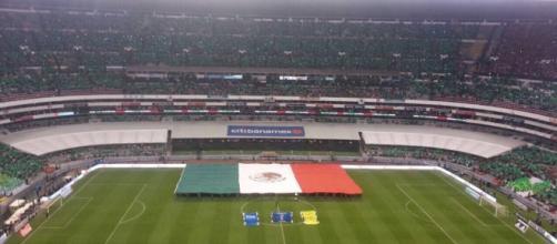 Partido de México en el Estadio Azteca (vía - mexico.as.com)