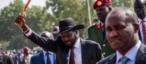 Salva Kiir Mayardit, presidente del Sud Sudan