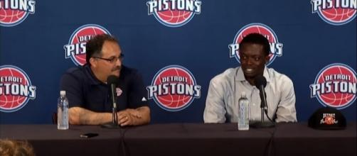 Stan Van Gundy said Reggie Jackson is ready for camp -- DetPistonsOfficial via YouTube