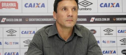 Técnico Zé Ricardo, novo treinador do Vasco da Gama
