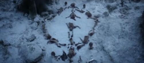 The symbol of the White Walkers / Photo via Best Scenes of All SITCOMS, www.youtube.com