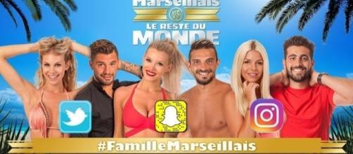 Tous les comptes officiels des réseaux sociaux des Marseillais et du Reste du Monde sur Blasting News.