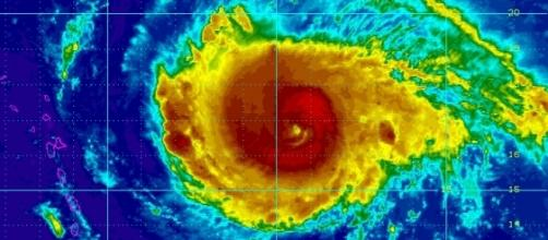 View of Hurricane Irma via Wikimedia Commons http://bit.ly/2f4Kj99