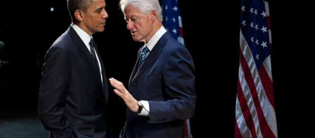 Barack Obama and Bill Clinton. Photo: Pete Souza/Public Domain