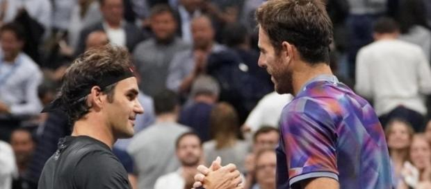 Del Po vince contro Federer in 4 set.